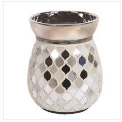 Pearl & Silver Electric Wax Warmer