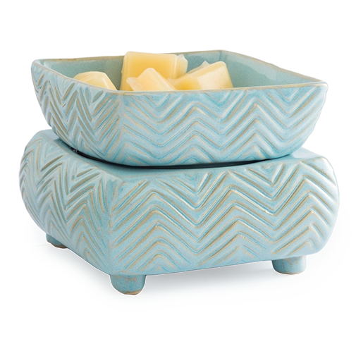 2-in-1 Wax & Candle Warmer Chevron