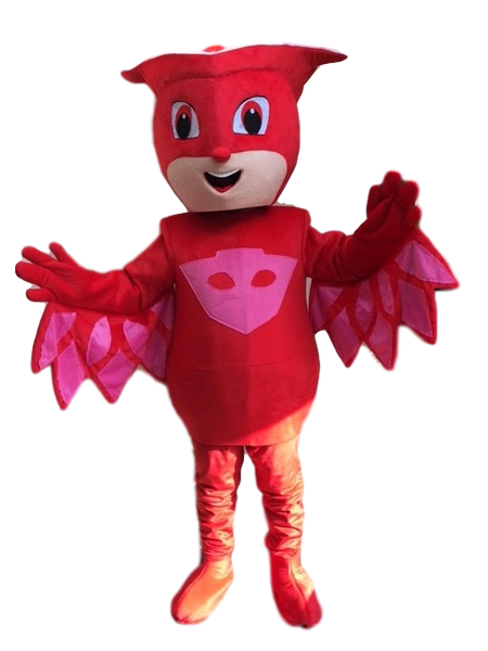 06ec7f161 Owl superhero costume for HIRE | Mascots for hire all you children's  favorites over 100 to pick