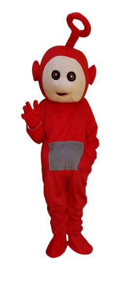 fd0d5cef6 Teletubbies Po Mascot costume HIRE 48hr adult size | Mascots for hire all  you children's favorites over 100 to pick