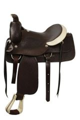 Circle S Roping Saddle (Shiloh Stables)