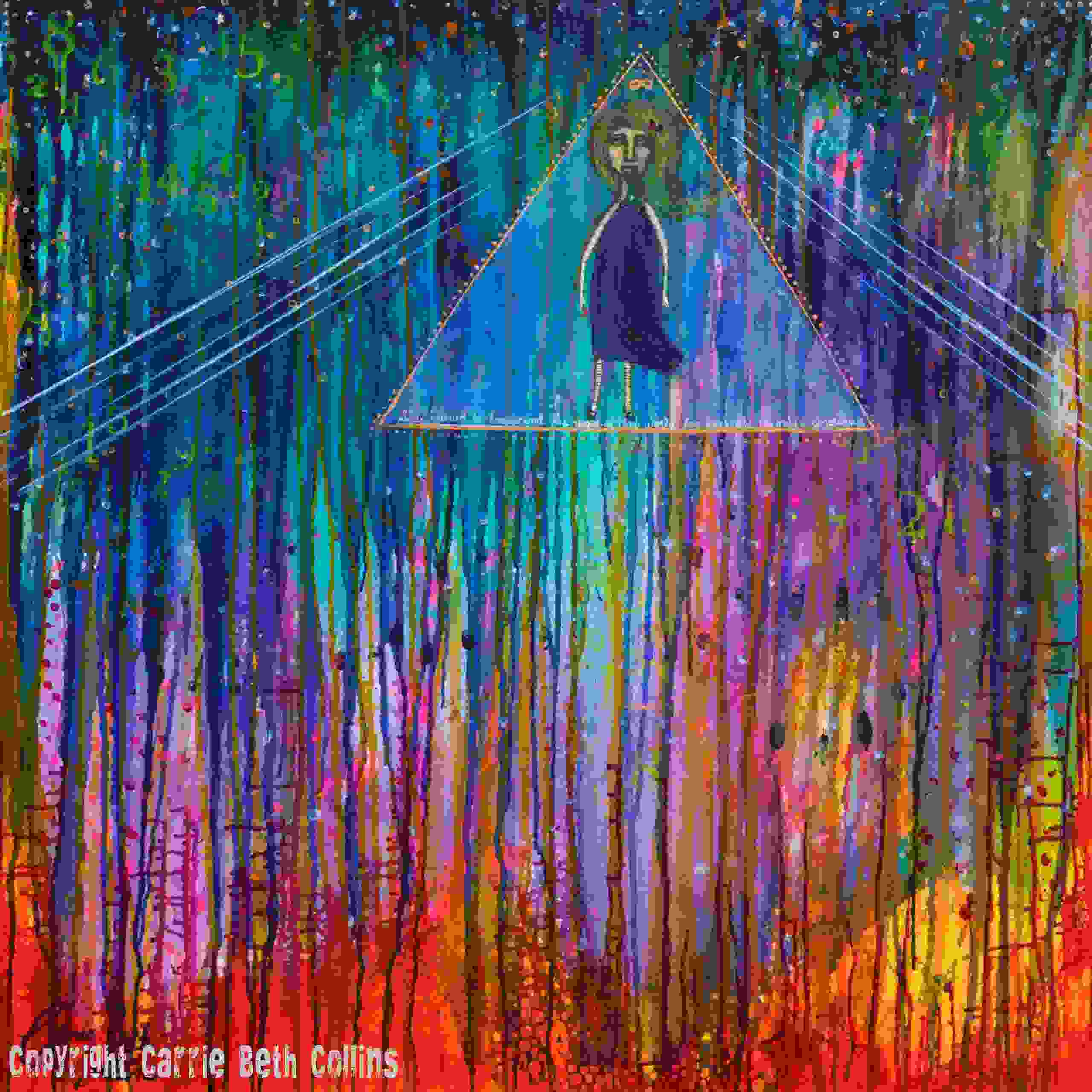 change, abstract, colorful, transcend, rainbow, Carrie Beth Collins