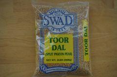 Toor Dal (Split Pigeon Peas), Swad, 2 Lbs