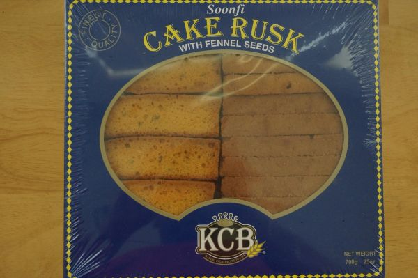 Cake Rusk with Fennel Seeds, KCB, 25 Oz