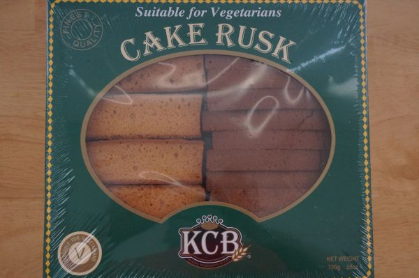 Cake Rusk (Suitable for Vegetarians), KCB, 25 Oz