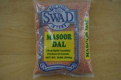 Masoor Dal (Red Split Lentils), Swad, 2 Lbs