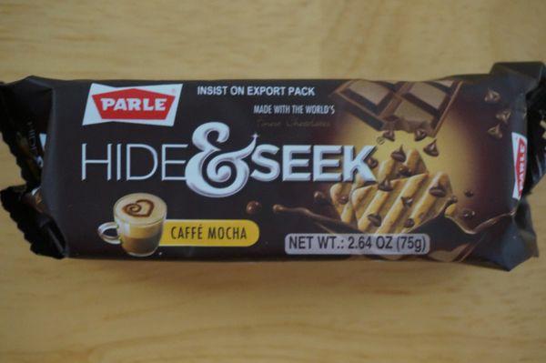 Hide & Seek Caffe Mocha Cookies, Parle, 75 G