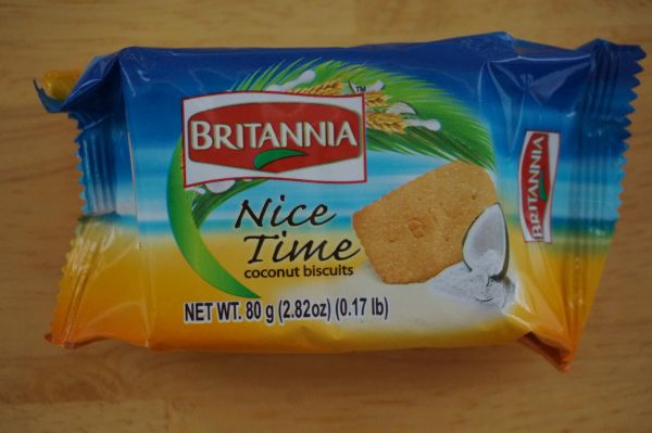 Nice Time Coconut Biscuits, Britannia, 80 G