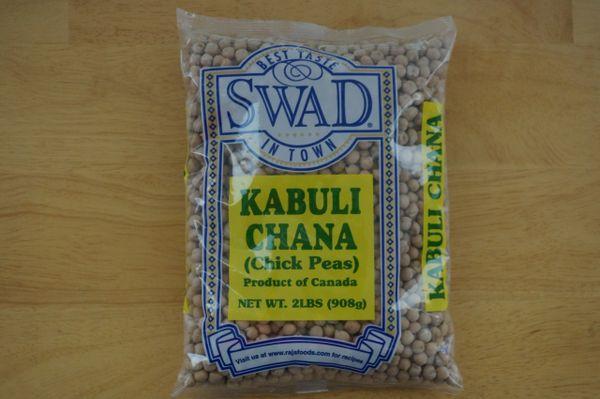 Kabuli Chana (Chick Peas), Swad, 2 Lbs