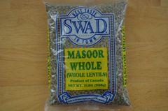 Masoor Whole (Whole Lentils), Swad, 2 Lbs