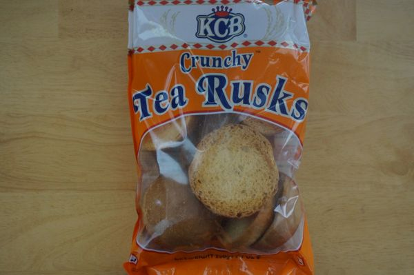 Crunchy Tea Rusks, KCB,