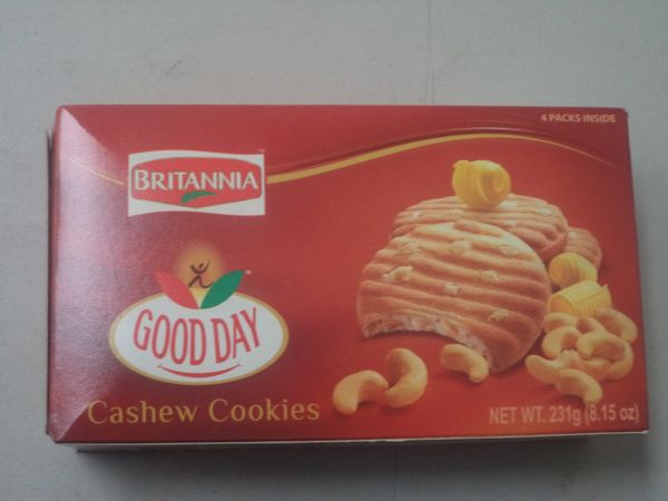 Good Day Cashew Cookies Britannia 231g