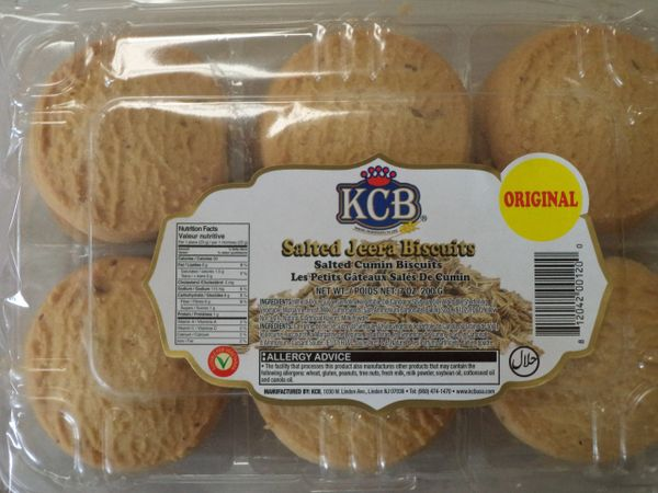 Salted Jeera Biscuits KCB 200 g