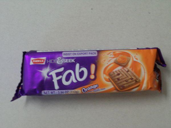 Hide & Seek Fab Orange Cookies Parle 112 g