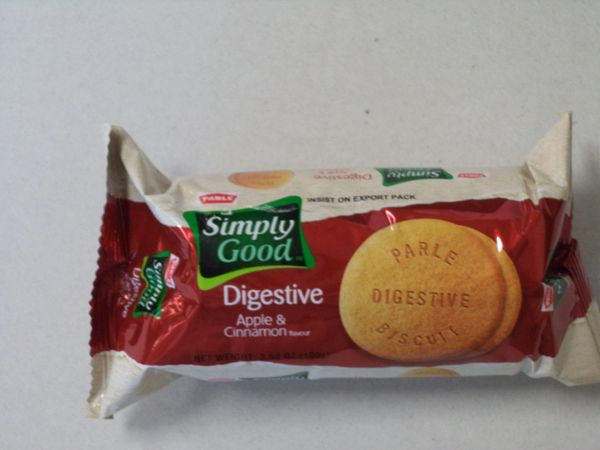 Simply Good Digestive Apple & Cinnamon Biscuits Parle 100 g