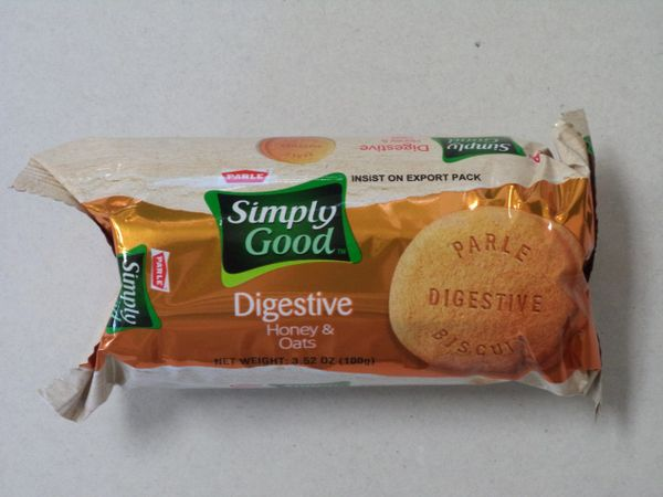 Simply Good Digestive Honey & Oats Biscuits Parle 100 g