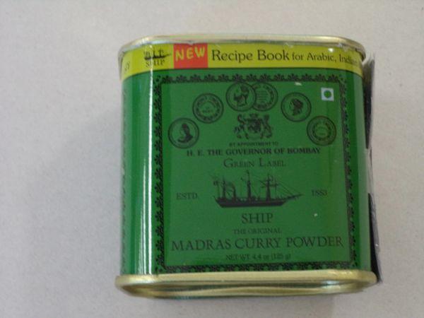 Madras Curry Powder SHIP 125 g