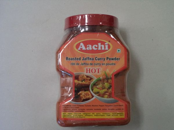 Roasted Jaffna Curry Powder Hot AACHI 500g
