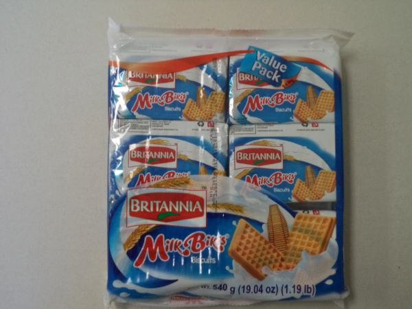 Milk Bikis Biscuits Value Pack Britannia 540 g