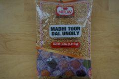 Madhi Toor Dal Unoily, Nirav, 4 Lbs