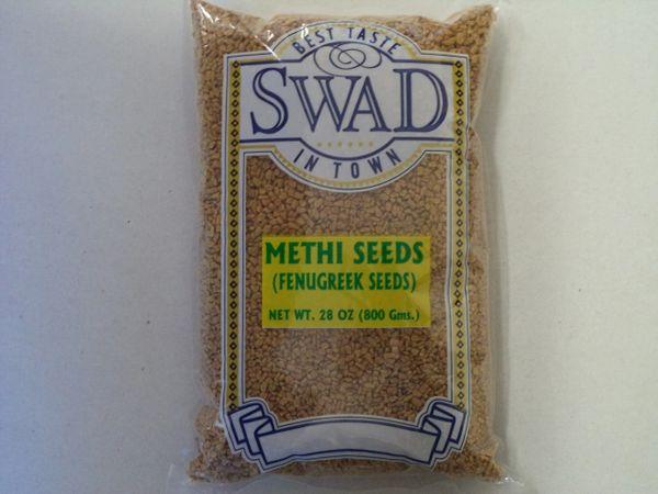 Methi Seeds (Fenugreek Seeds) SWAD 800 G