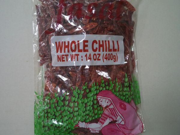 Whole Chilli Fasal 400 g