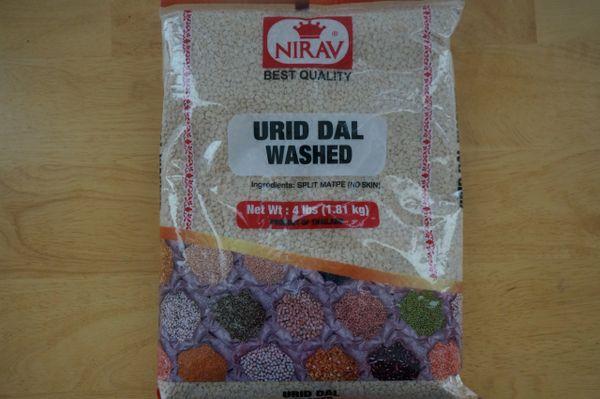 Urid Dal Washed, Nirav, 4 Lb