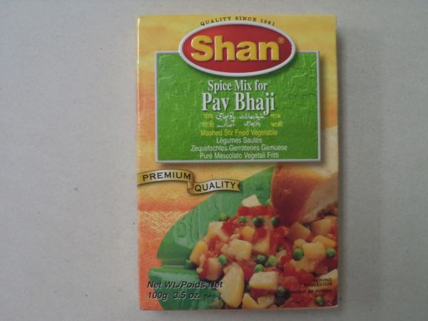 Pav Bhaji Shan 100 g