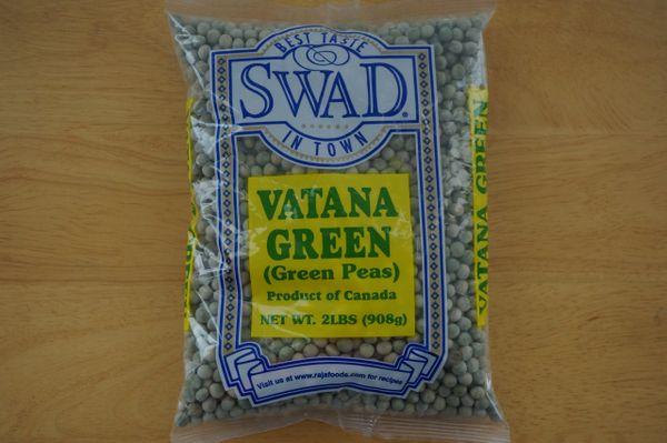 Vatana Green (Green Peas, Swad, 2 lbs)