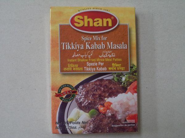 Tikkiya Kabab Masala Shan 50 g