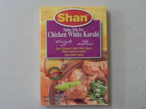 Chicken White Karahi Shan 40 g