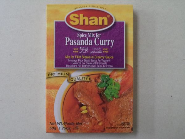 Pasanda Curry Shan 50 g