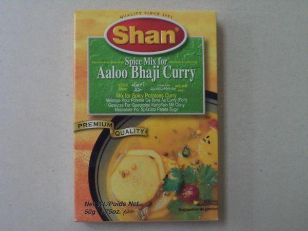 Aloo Bhaji Curry Shan 50 g