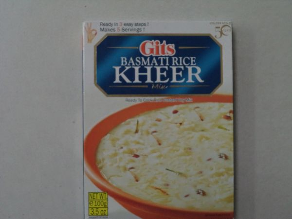 Basmati Rice Kheer Mix Gits 100 g