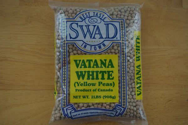 Vatana White (Yellow Peas, Swad, 2 lbs)