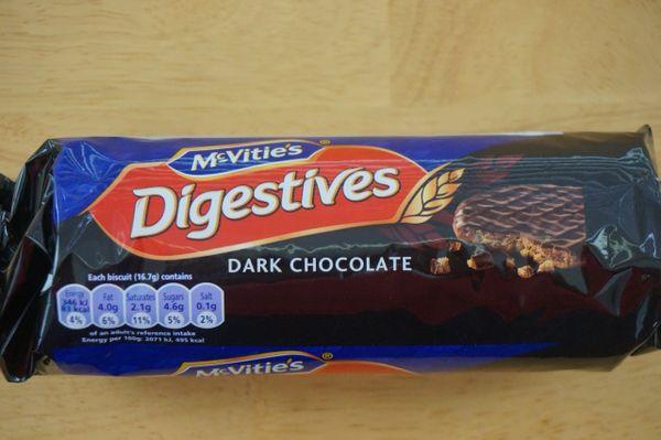 Digestives (Dark Chocolate), McVitie's, 300 G