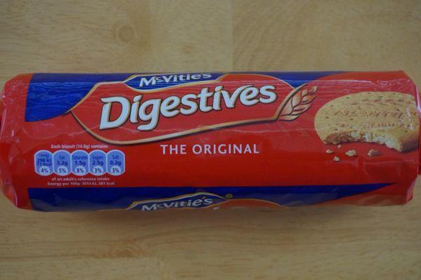 Digestives (Original), McVitie's, 400 G