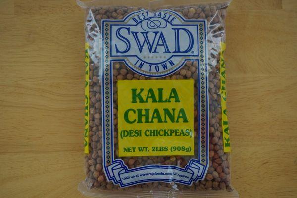 Kala Chana (Desi Chickpeas), Swad, 2 Lbs