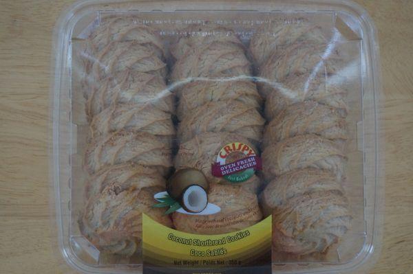 Coconut Shortbread Cookies, TWI, 350 G
