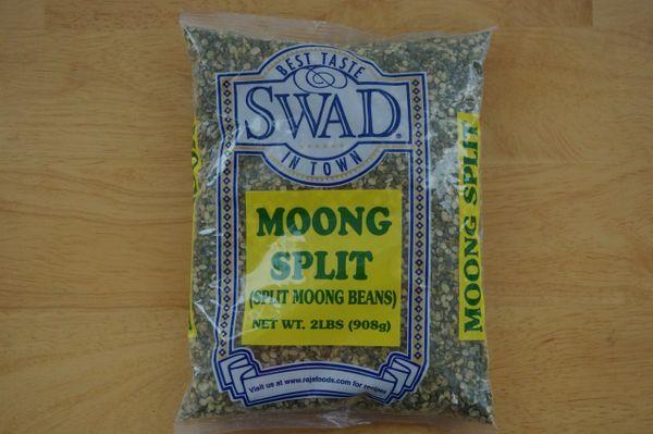 Moong Split (Split Moong Beans), Swad, 2 Lb