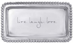 """live. laugh. love."" Tray"