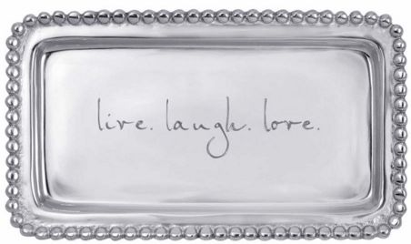 """live. laugh. love."" Tray"