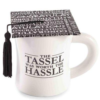 Mud Pie Cap and Tassel Graduation Mug