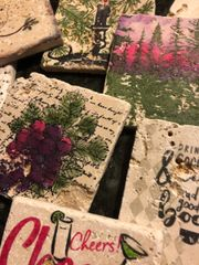 Crafting Custom Rustic Coasters For Gift Giving