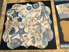 Ocean Blue - Scrapbook Kit