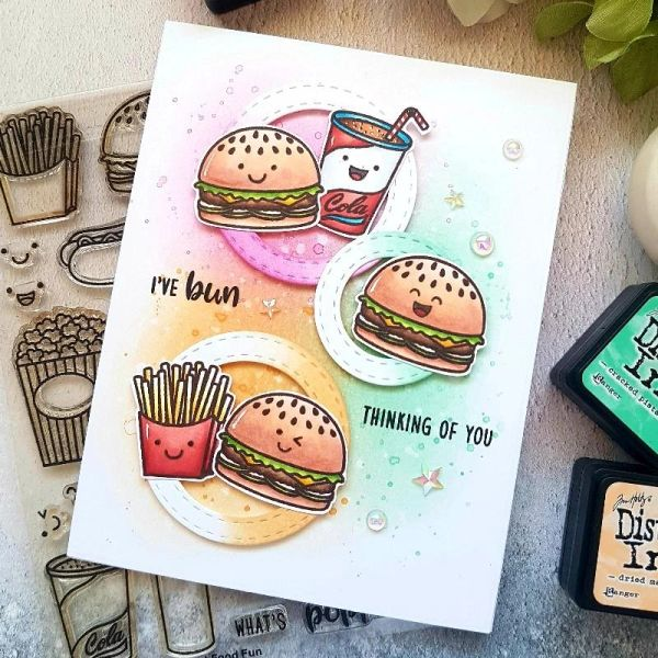 Fast Food Fun Stamp & Die Set