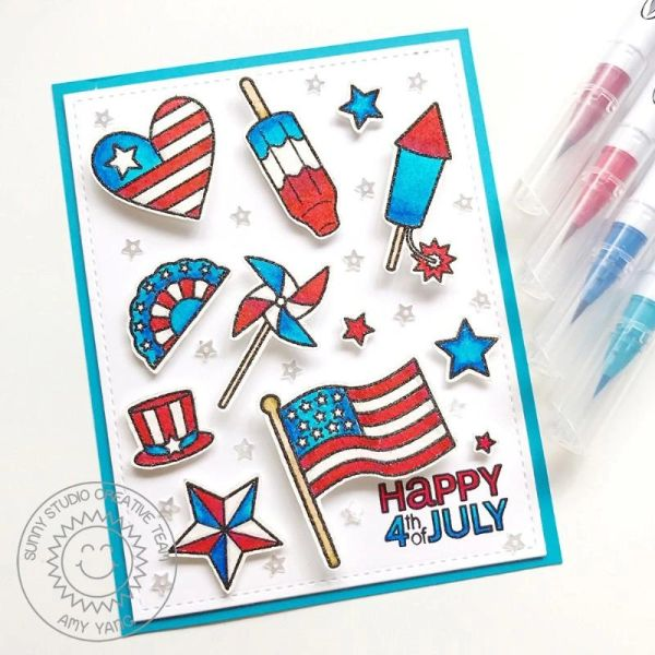 Stars & Stripes Stamp and Die Set