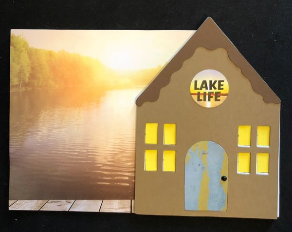 Custom Lake Cottage Album Kit