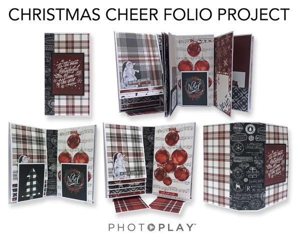 PRE-ORDER - Christmas Cheer Folio Workshop
