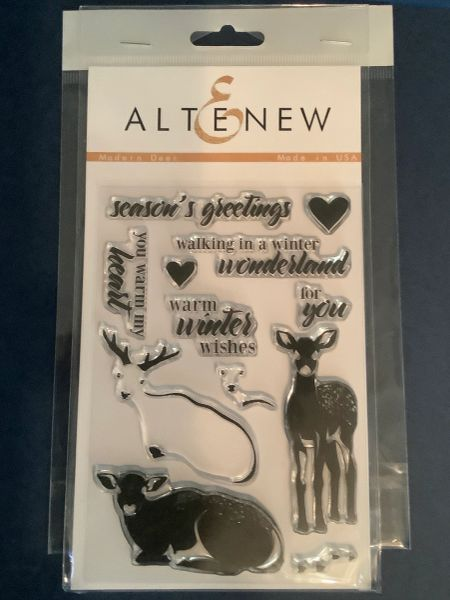 Modern Deer Stamps & Die Bundle
